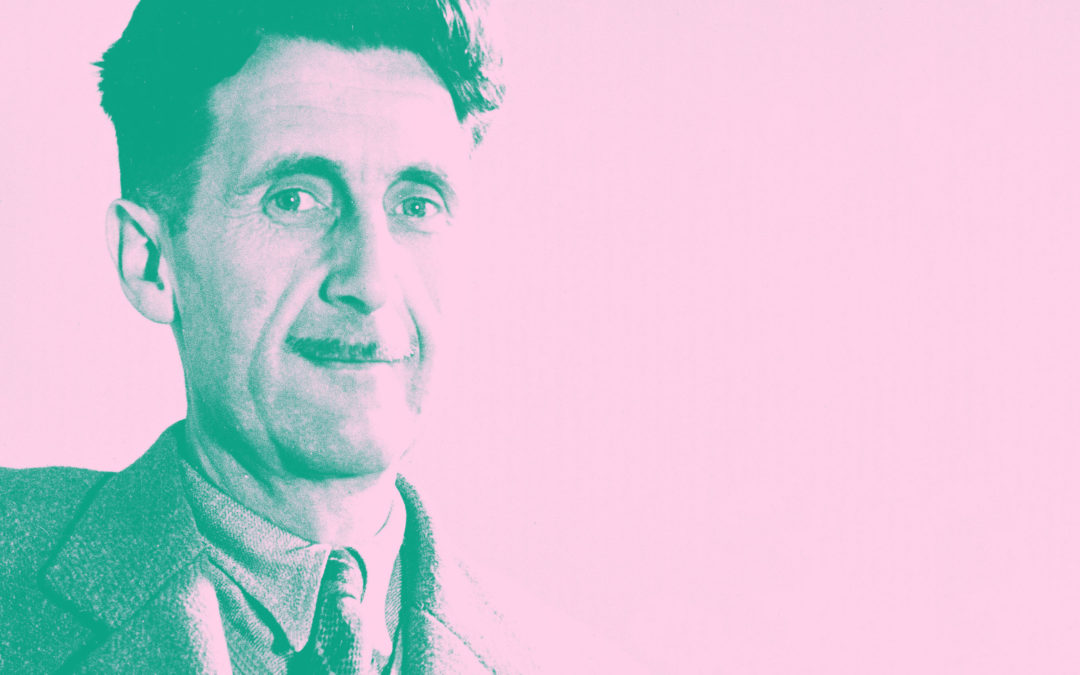 6 things George Orwell taught me about design